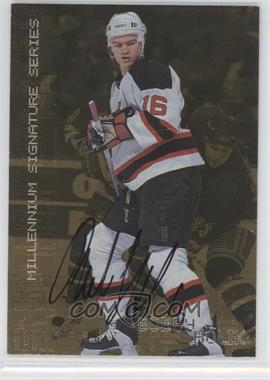 1999-00 In the Game Millennium Signature Series Gold Autograph [Autographed] #150 - Bobby Holik