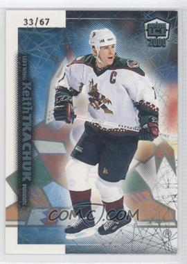 1999-00 Pacific Dynagon Ice Blue #155 - Keith Tkachuk /67