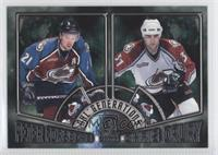 Peter Forsberg, Chris Drury