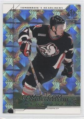 1999-00 SP Authentic - Tomorrow's Headliners #TH3 - Maxim Afinogenov