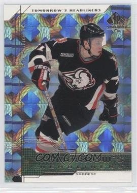 1999-00 SP Authentic Tomorrow's Headliners #TH3 - Maxim Afinogenov