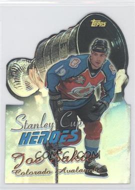 1999-00 Topps - Stanley Cup Heroes - Refractor #SC10 - Joe Sakic