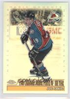 Joe Sakic (1988 Canadian Junior Player of the Year)