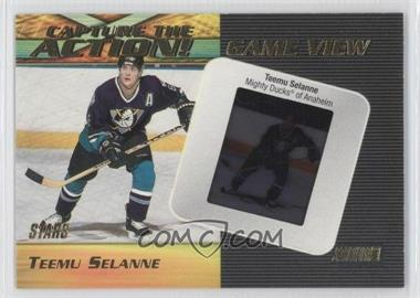 1999-00 Topps Stadium Club Capture the Action Game View #CAG15 - Teemu Selanne /100