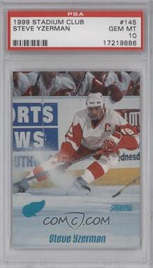 1999-00 Topps Stadium Club #145 - Steve Yzerman [PSA 10]