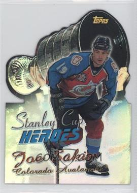 1999-00 Topps Stanley Cup Heroes Refractor #SC10 - Joe Sakic