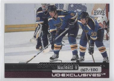 1999-00 Upper Deck - [Base] - UD Exclusives #114 - Al MacInnis /100