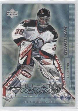 1999-00 Upper Deck All-Star Class Silver Quantum #AS1 - Dominik Hasek /100