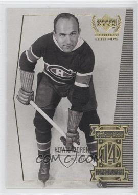 1999-00 Upper Deck Century Legends Contemporaries #14 - Howie Morenz