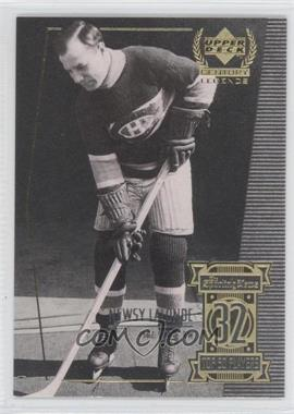 1999-00 Upper Deck Century Legends Contemporaries #32 - Newsy Lalonde