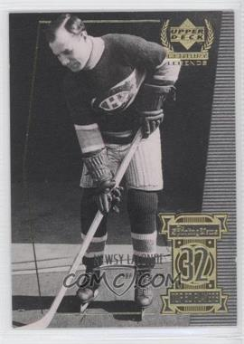 1999-00 Upper Deck Century Legends Contemporaries #32 - Newsy Lalonde