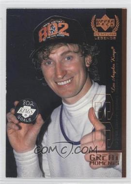 1999-00 Upper Deck Century Legends Great Moments #GM6 - Wayne Gretzky