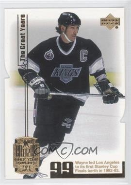 1999-00 Upper Deck Gretzky Exclusive - [Base] - Gold #24 - Wayne Gretzky /99