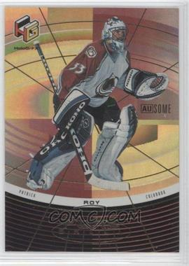 1999-00 Upper Deck HoloGrFX - Pure Skills - AuSOME #PS6-AU - Patrick Roy