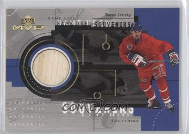 1999-00 Upper Deck MVP - Game Used Souvenirs #GU20 - Wayne Gretzky