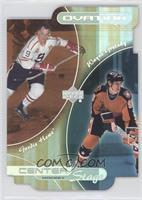 Wayne Gretzky, Gordie Howe