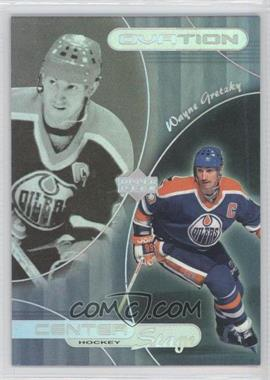 1999-00 Upper Deck Ovation Center Stage #CS22 - Wayne Gretzky