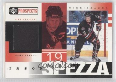 1999-00 Upper Deck Prospects Jerseys #JS - Jason Spezza