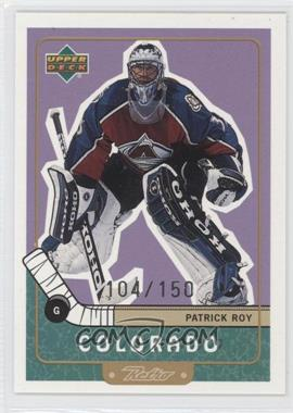 1999-00 Upper Deck Retro Gold #20 - Patrick Roy /150
