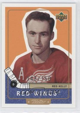1999-00 Upper Deck Retro Gold #98 - Red Kelly /150