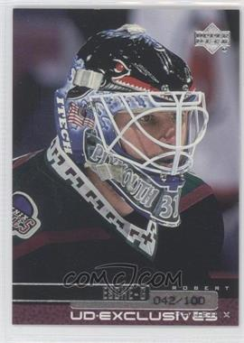 1999-00 Upper Deck UD Exclusives #101 - Robert Esche /100