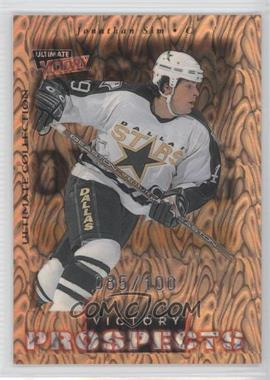 1999-00 Upper Deck Ultimate Victory - [Base] - Ultimate Collection #96 - Jon Sim /100