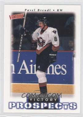 1999-00 Upper Deck Victory - [Base] #358 - Victory Prospects - Pavel Brendl