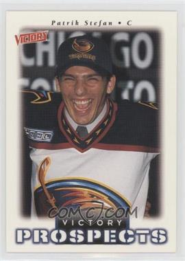 1999-00 Upper Deck Victory #357 - Victory Prospects - Patrik Stefan
