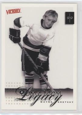 1999-00 Upper Deck Victory #392 - A Hockey Legacy - Wayne Gretzky