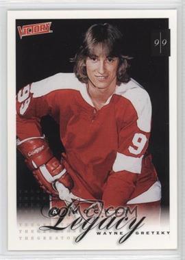 1999-00 Upper Deck Victory #394 - A Hockey Legacy - Wayne Gretzky