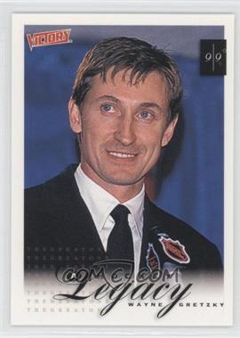 1999-00 Upper Deck Victory #431 - A Hockey Legacy - Wayne Gretzky