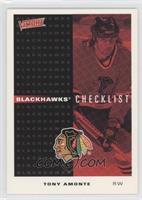 Blackhawks Checklist