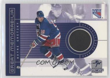 1999-00 Upper Deck Wayne Gretzky Hockey Great Memorabilia #1 - Wayne Gretzky /10