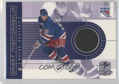 1999-00 Upper Deck Wayne Gretzky Hockey Great Memorabilia #GM1 - Wayne Gretzky