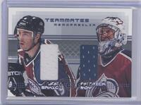 Joe Sakic, Patrick Roy