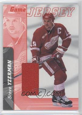 2000-01 In the Game Be A Player Signature Series - Game Jersey #J-30 - Steve Yzerman
