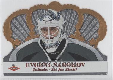 2000-01 Pacific Crown Royale - Samples #N/A - Evgeni Nabokov