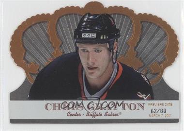 2000-01 Pacific Crown Royale [???] #14 - Chris Gratton /80