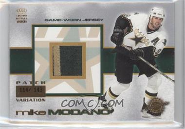 2000-01 Pacific Crown Royale Game-Worn Jerseys Patch #11 - Mike Modano /143
