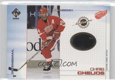 2000-01 Pacific Private Stock - Game-Used Gear #43 - Chris Chelios