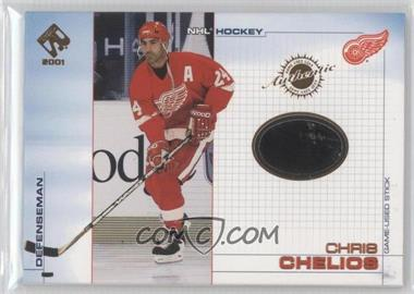 2000-01 Pacific Private Stock Game-Used Gear #43 - Chris Chelios