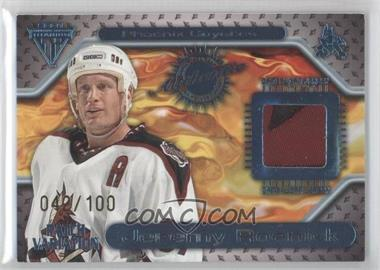 2000-01 Pacific Private Stock Titanium Game-Used Gear Patch #129 - Jeremy Roenick