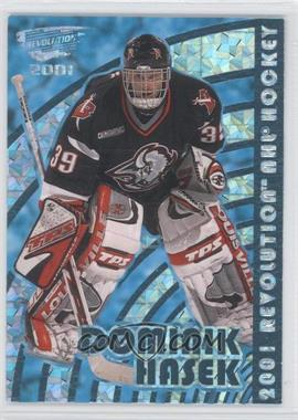 2000-01 Pacific Revolution Blue #17 - Dominik Hasek /85