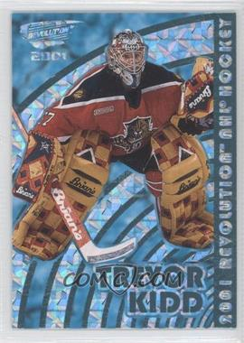 2000-01 Pacific Revolution Shadow Series Blue #62 - Trevor Kidd /85