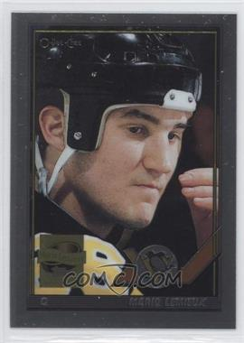 2000-01 Topps Chrome Mario Lemieux Commemorative Series Reprints #15 - Mario Lemieux