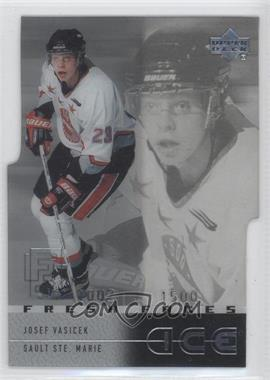 2000-01 Upper Deck Ice - [Base] #50 - Josef Vasicek /1500