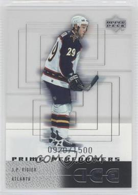 2000-01 Upper Deck Ice #107 - J.P. Vigier /1500