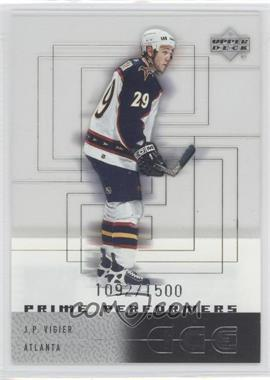 2000-01 Upper Deck Ice #107 - J.P. Vigier /1500