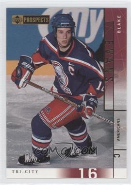 2000-01 Upper Deck Prospects CHL #74 - Blake Evans