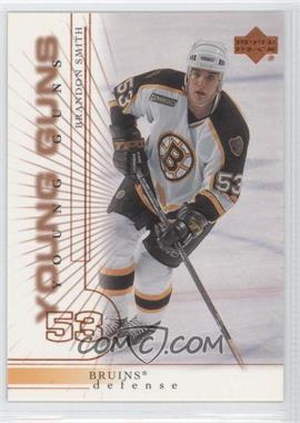 2000-01 Upper Deck #219 - Brandon Smith